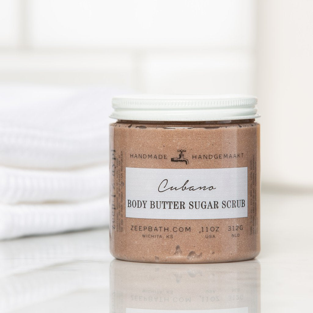 Cubano Body Butter Sugar Scrub