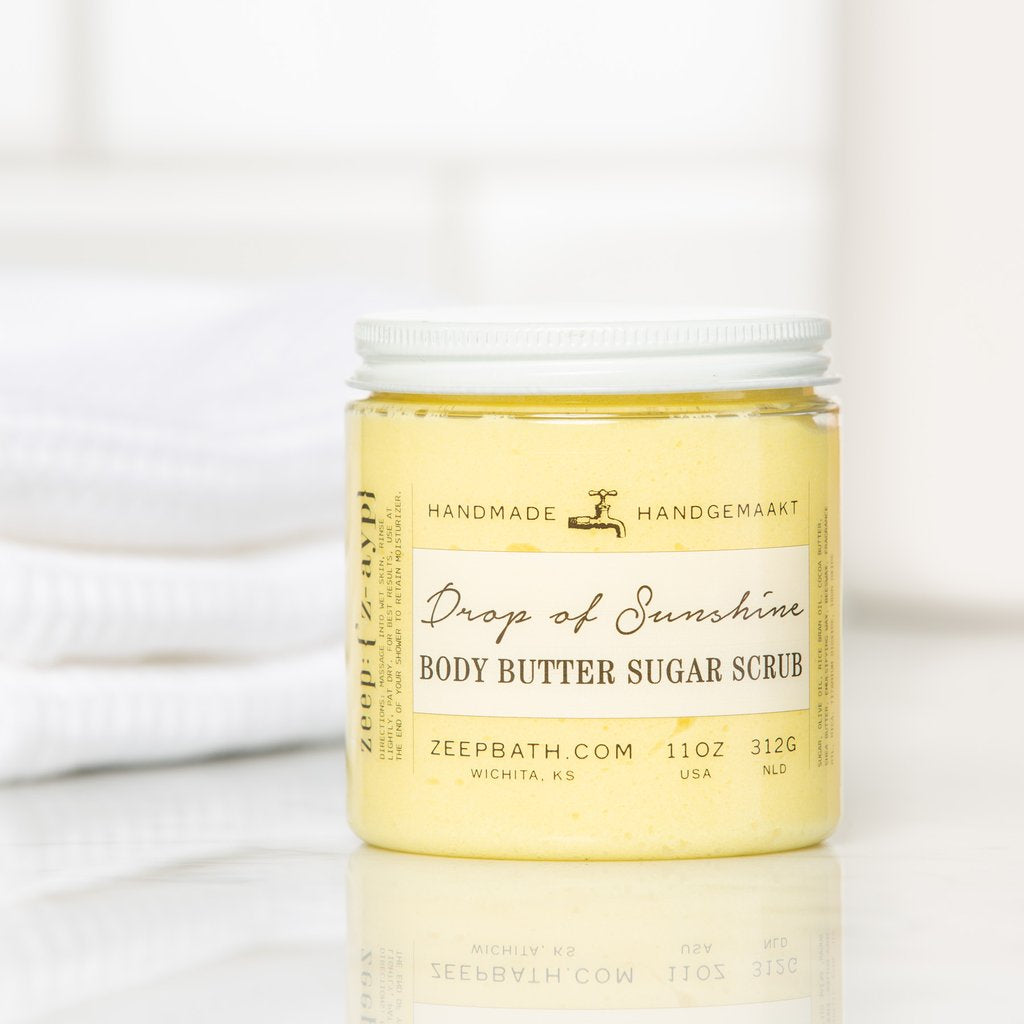 Drop of Sunshine Body Butter Sugar Scrub