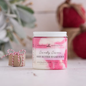 Candy Canes Body Butter Sugar Scrub