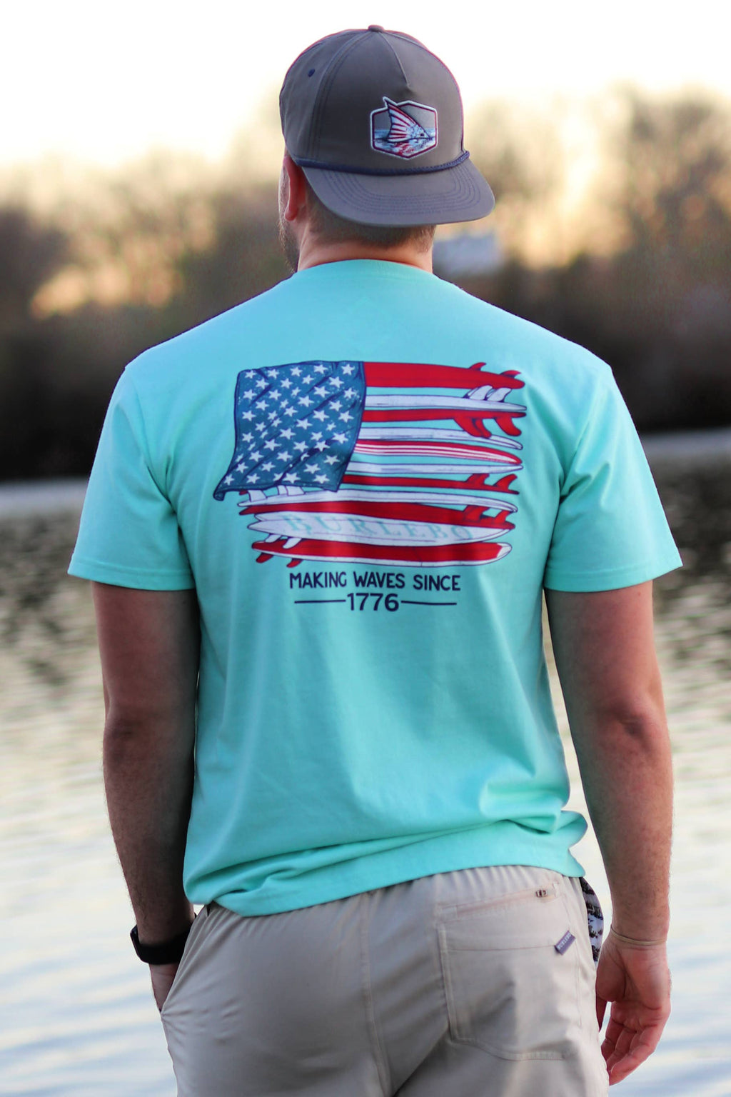 Making Waves Since 1776 Tee
