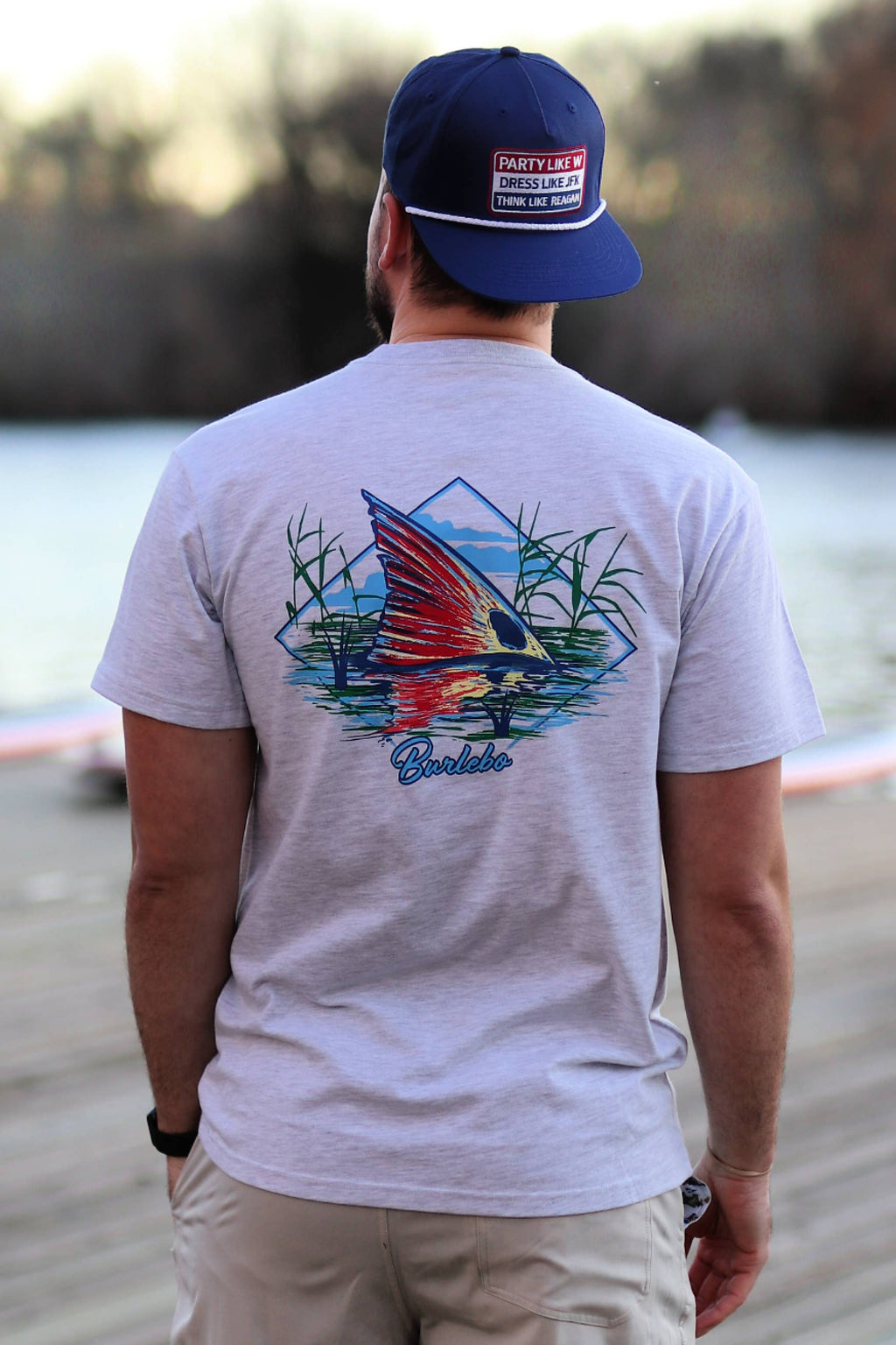 Redfish Fin Tee