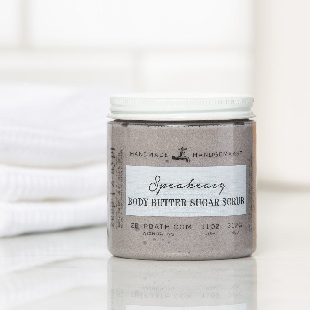 Speakeasy Body Butter Sugar Scrub