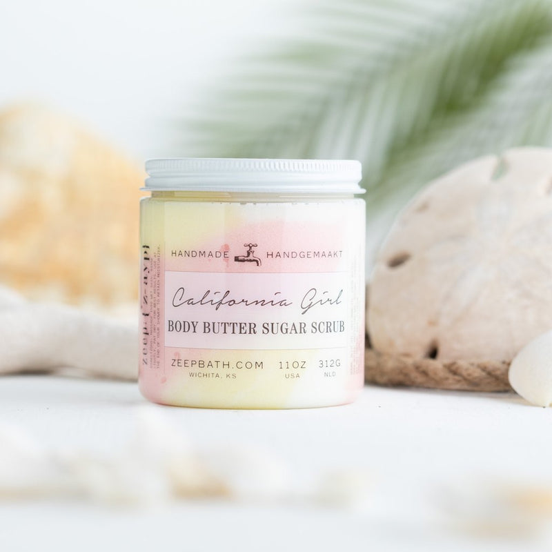 California Girl Body Butter Sugar Scrub