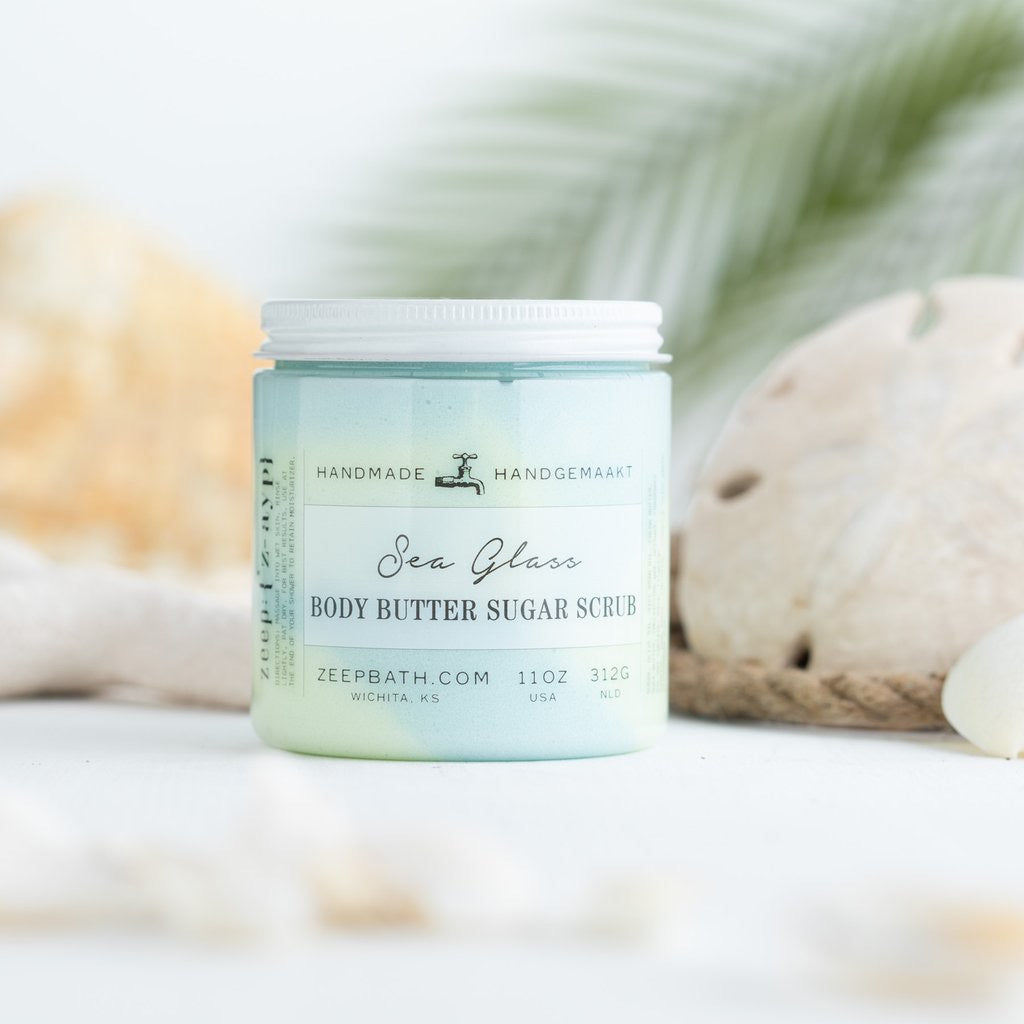 Sea Glass Body Butter Sugar Scrub