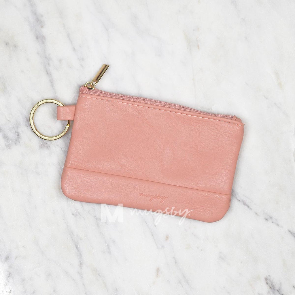 Coral Key Ring Wallet