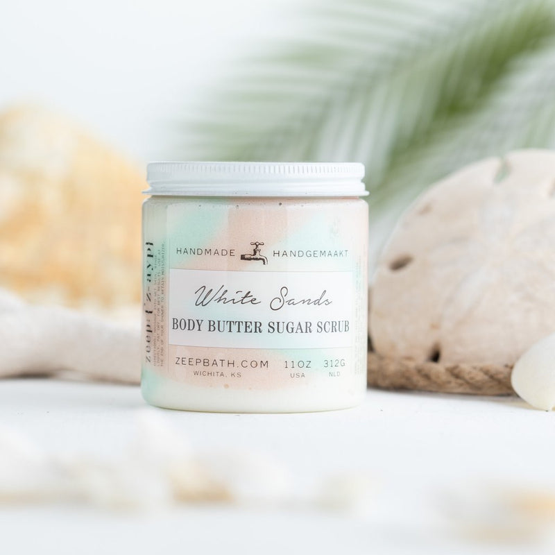 White Sands Body Butter Sugar Scrub