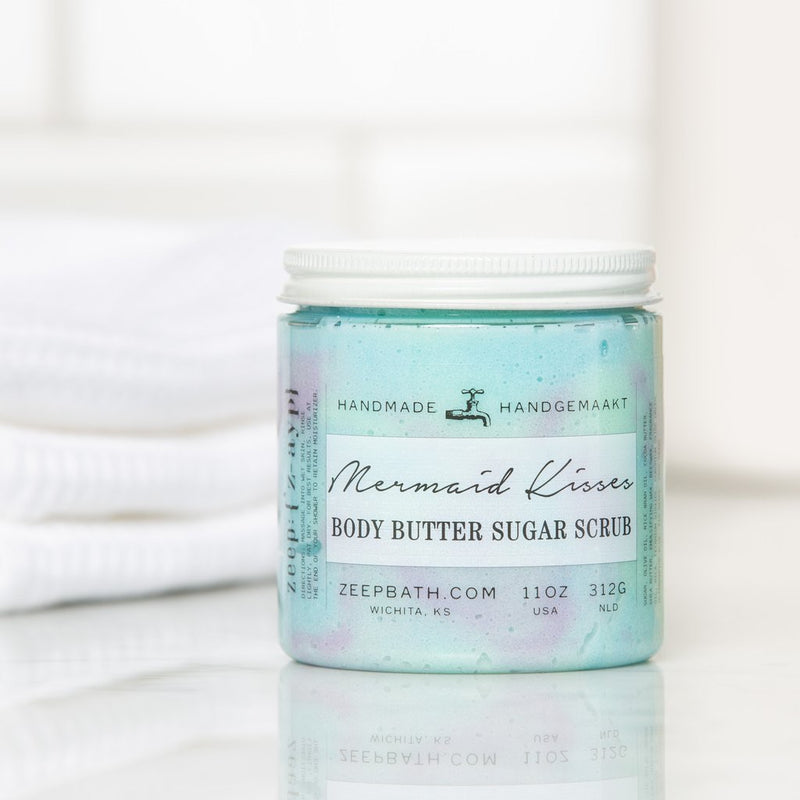 Mermaid Kisses Body Butter Sugar Scrub