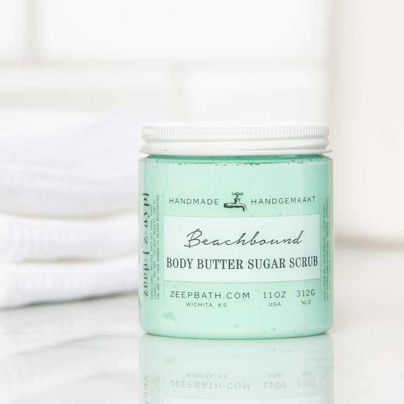 Beachbound Body Butter Sugar Scrub