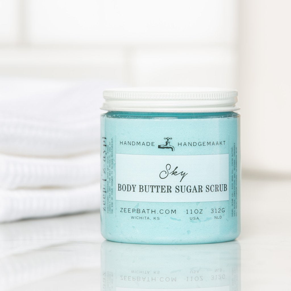 Sky Body Butter Sugar Scrub