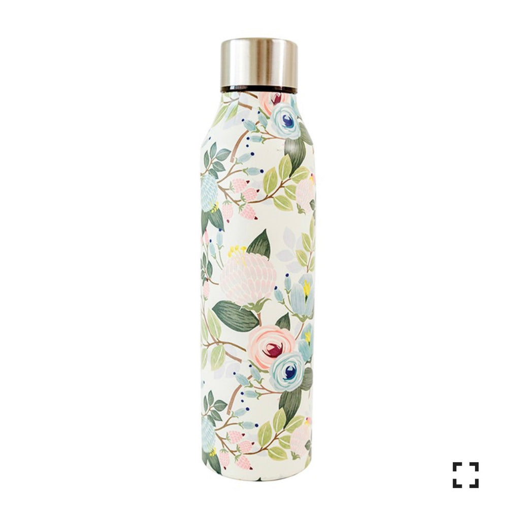 Stainless Bottle - Peach Floral