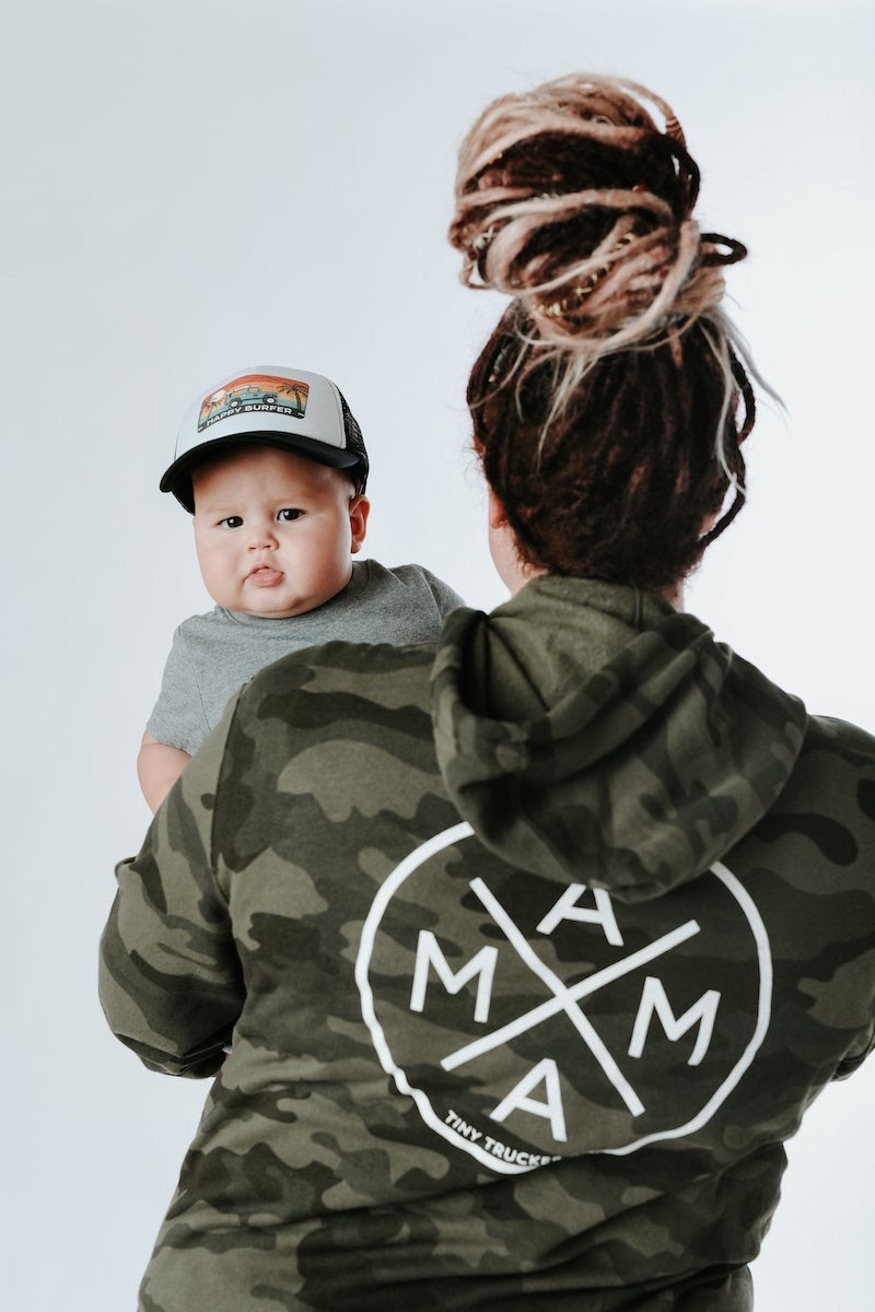 MAMA X ™ Zip Up Sweatshirt - Camo