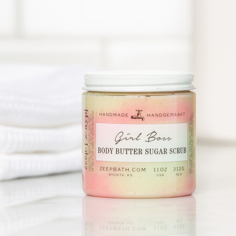 Girl Boss Body Butter Sugar Scrub