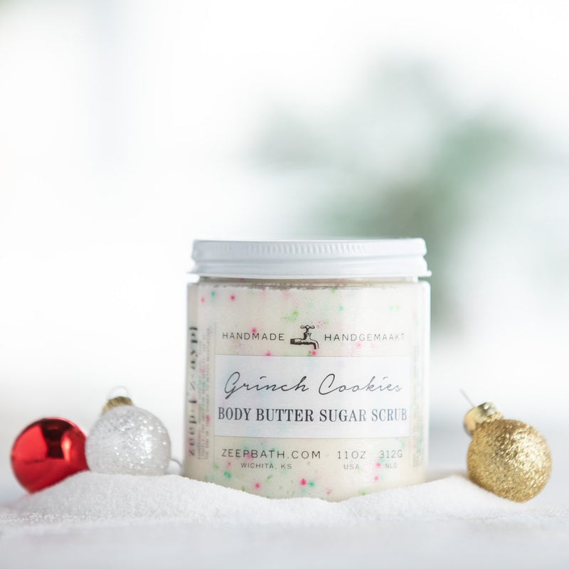 Grinch Cookies Body Butter Sugar Scrub
