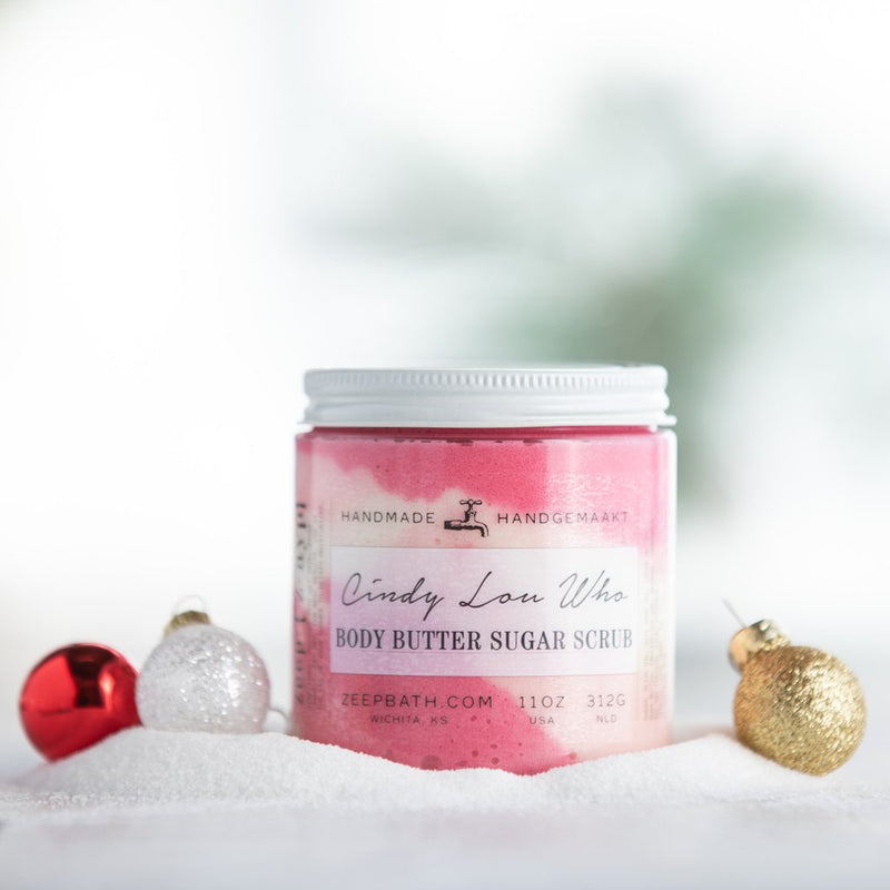 Cindy Lou Who Body Butter Sugar Scrub
