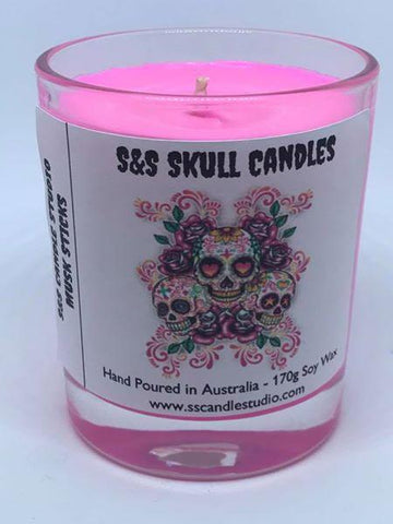 S&S Skull Candles
