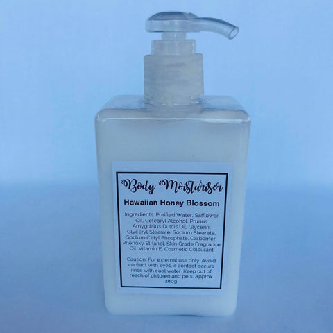 Body Moisturiser - Hawaiian Honey Blossom 280mls