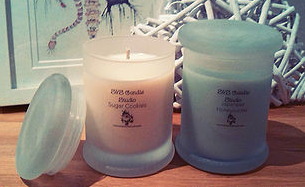 S&S Frosted Metro Candle Collection