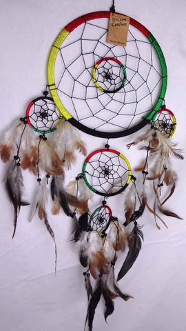 S&S Multi Coloured Dream Catcher