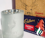 S&S XMAS Silver Frost Candle Pack