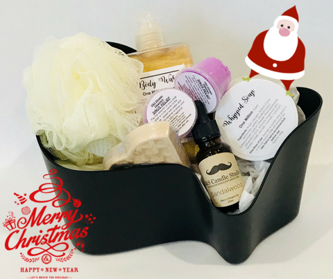 S&S Christmas Mens Deluxe Bath Pack