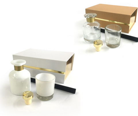 S&S Diffuser & Shot Glass Candle Gift Set