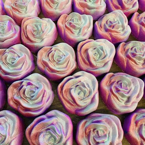 S&S Limited-Edition Rose Bath Bombs