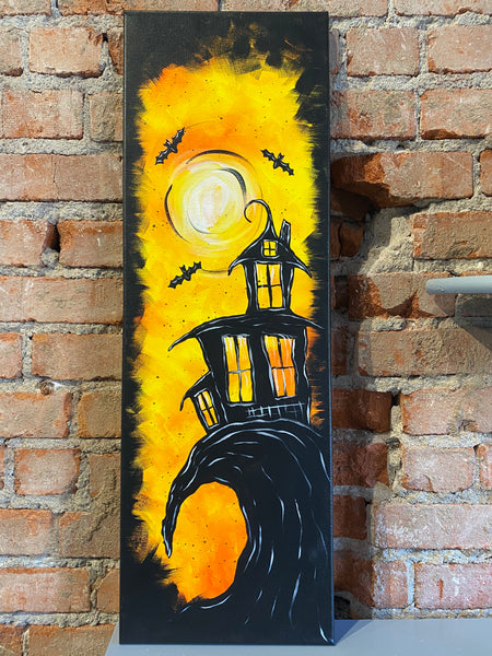 Haunted House Canvas (October 17, 2020 6:30-8:30pm)