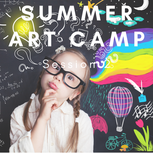 Summer Art Camp Session 2 (July 13-15, 2020. 9am-12pm)