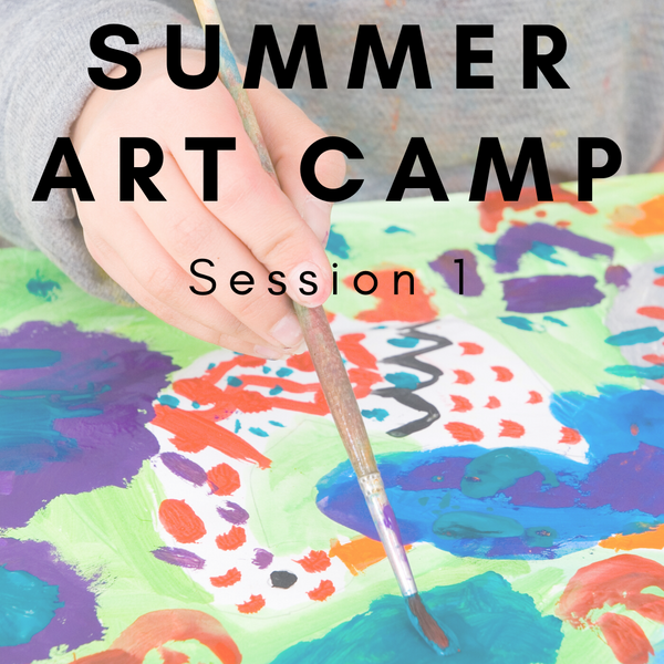 Summer Art Camp Session 1 (July 6-8, 2020. 9am-12pm)