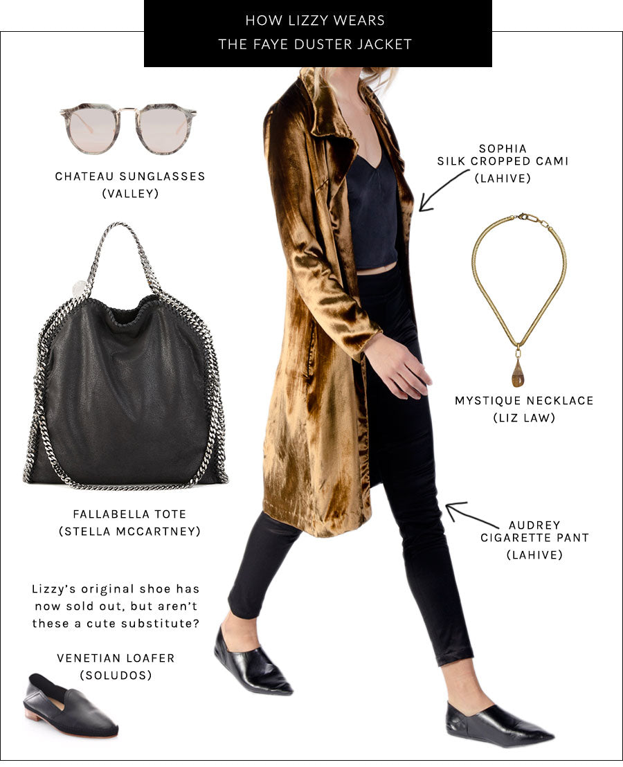 All Dressed Up: The FAYE Duster Jacket