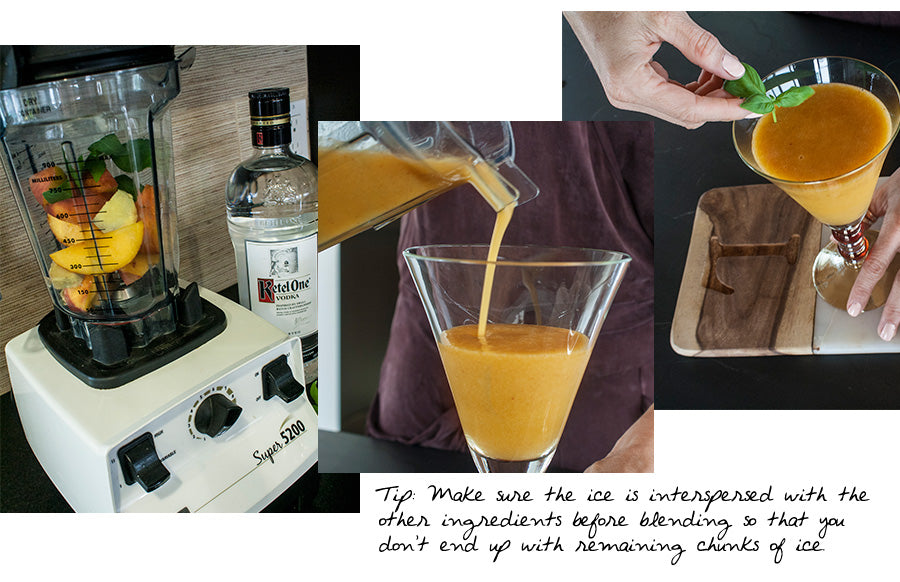 Georgia Peach Cocktail Drink How to Make - Step by Step Instructions Part 2