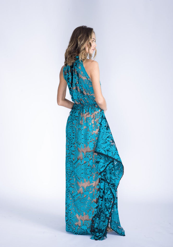 MARCELLA halter lace gown