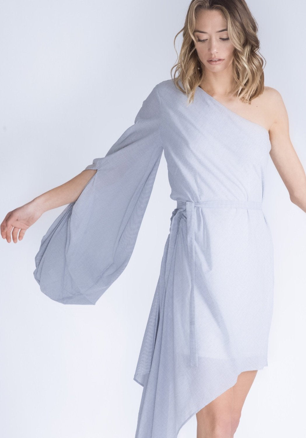 CATELYN One Shoulder Dress