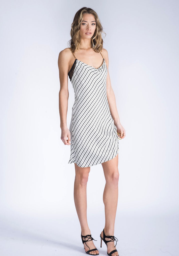 JORDAN Slinky Slip Dress