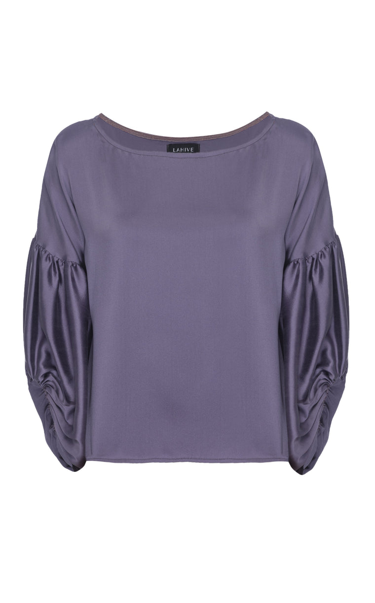 OLENNA Iris Silk Top