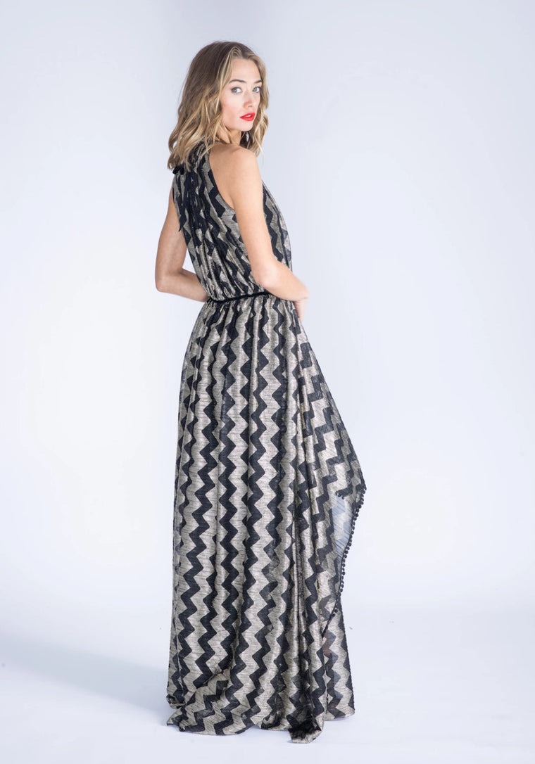 MARCELLA Zig Zag Dress