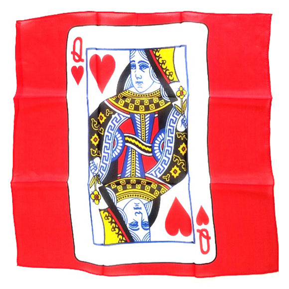 Playing Card Silk Scarf