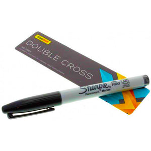 Double Cross Sharpie Magic Trick