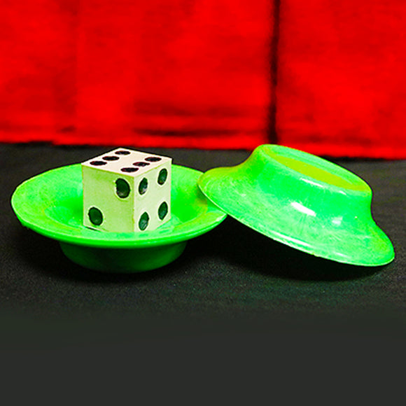 Magic UFO Shrinking Dice Trick