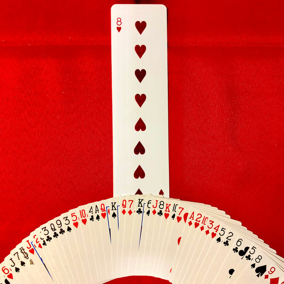 Long Card Magic Trick