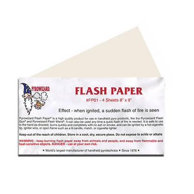 Magic Flash Paper