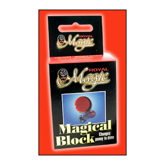 Magical Block Coin Trick