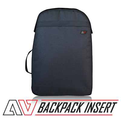 avert bags av backpack insert with logo
