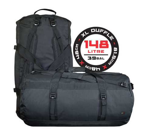 Avert XL Duffle Bag has premium odor-absorbing carbon lining with protective mesh