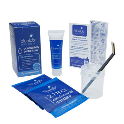 bluelab conductivity care kit box packaging