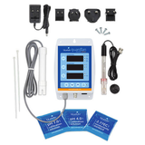 bluelab guardian connect kit package contains ph 4 ph 7 kcl solution and probes