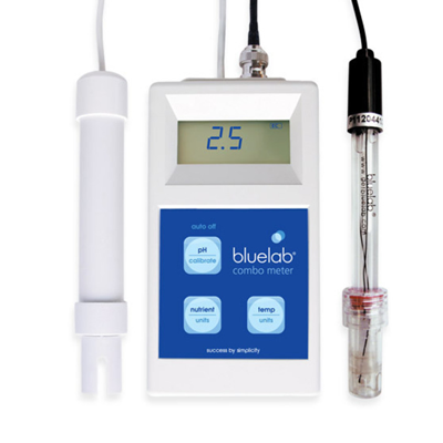 bluelab combo meter with ec and ph probe