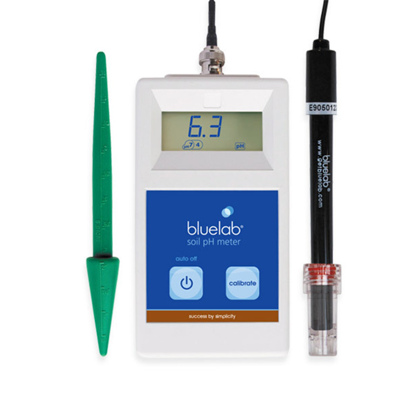 bluelab soil pH meter with probes