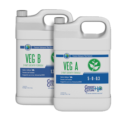 Cultured Solutions Veg A/B nutrient set