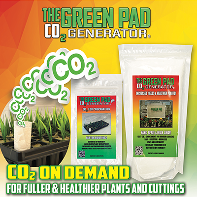 green pad co2 generator co2 on demand artwork